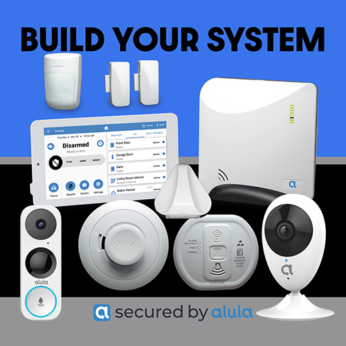 ALULA SECURITY BUILD YOUR SYSTEM